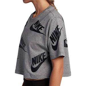 Nike Futura Logo Crop Top XL